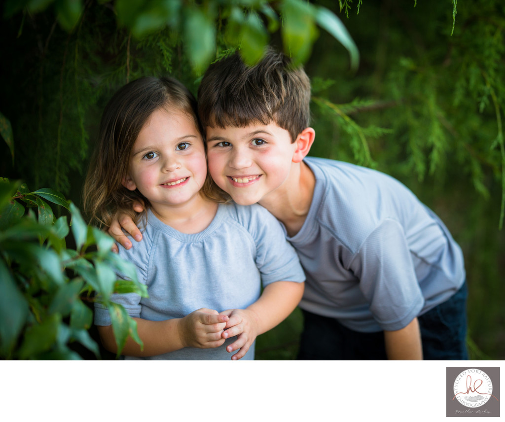 Athens Georgia kids family photo session