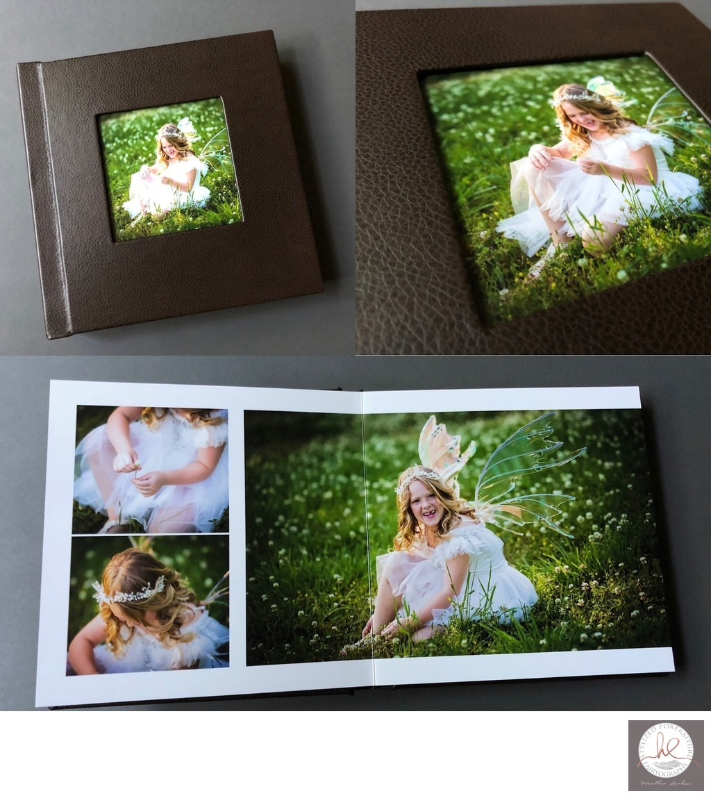 Custom vegan leather photo albums