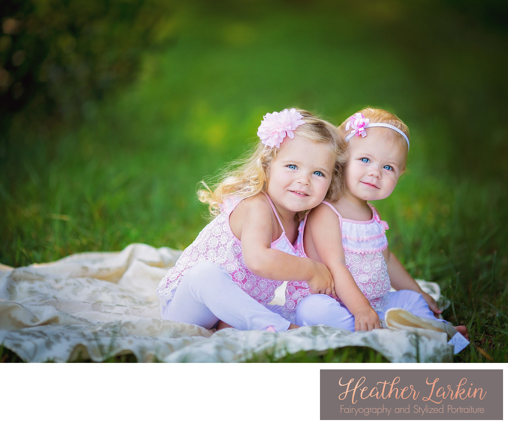 Toddler sisters photographer in Watkinsville