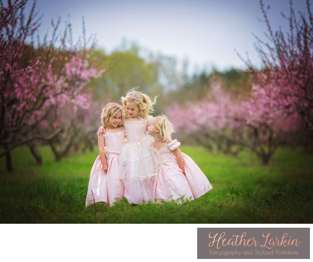 Peach Orchard Princesses