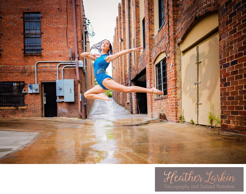 Ballet in the rain athens ga