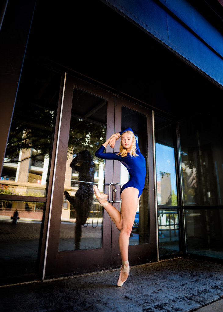 Ballet Photography in Urban Athens