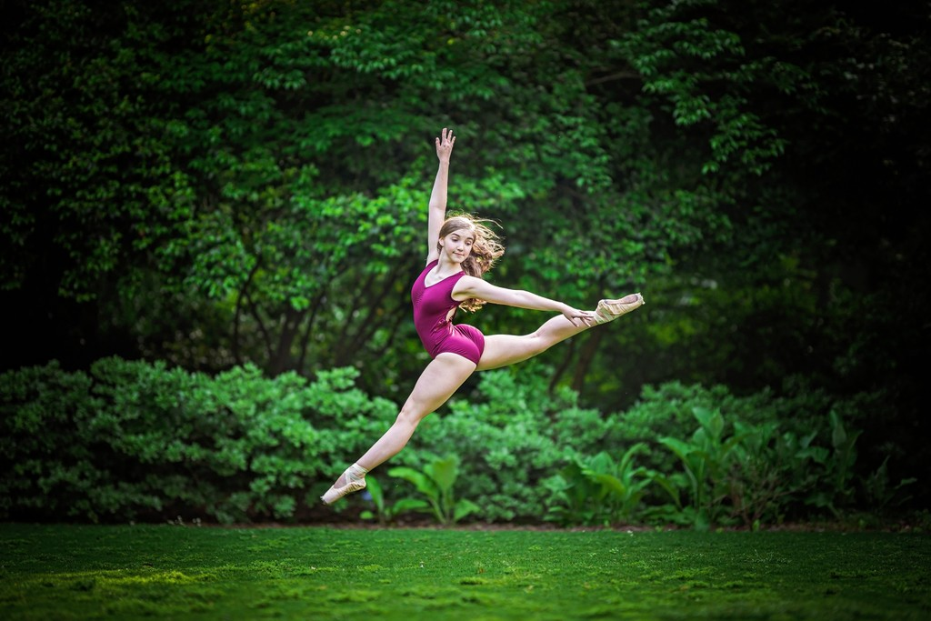 Dancer in nature, Athens Botanical Gardens