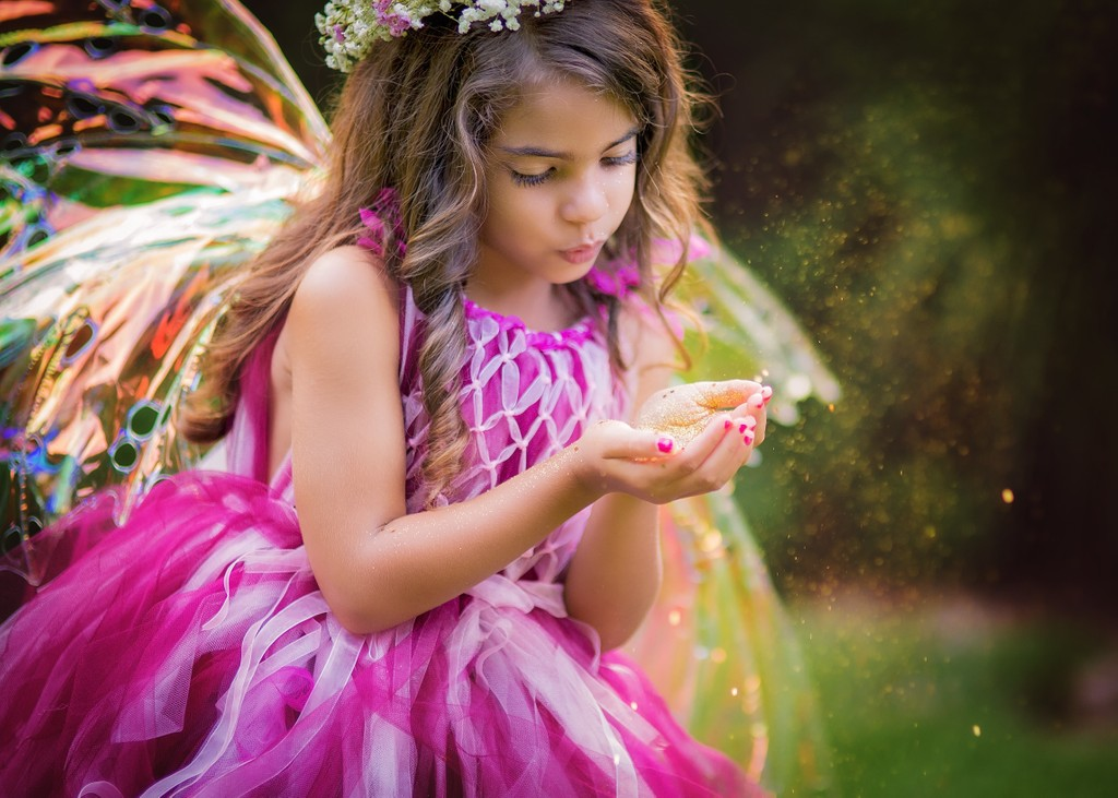 Watkinsville children's fairy photographer
