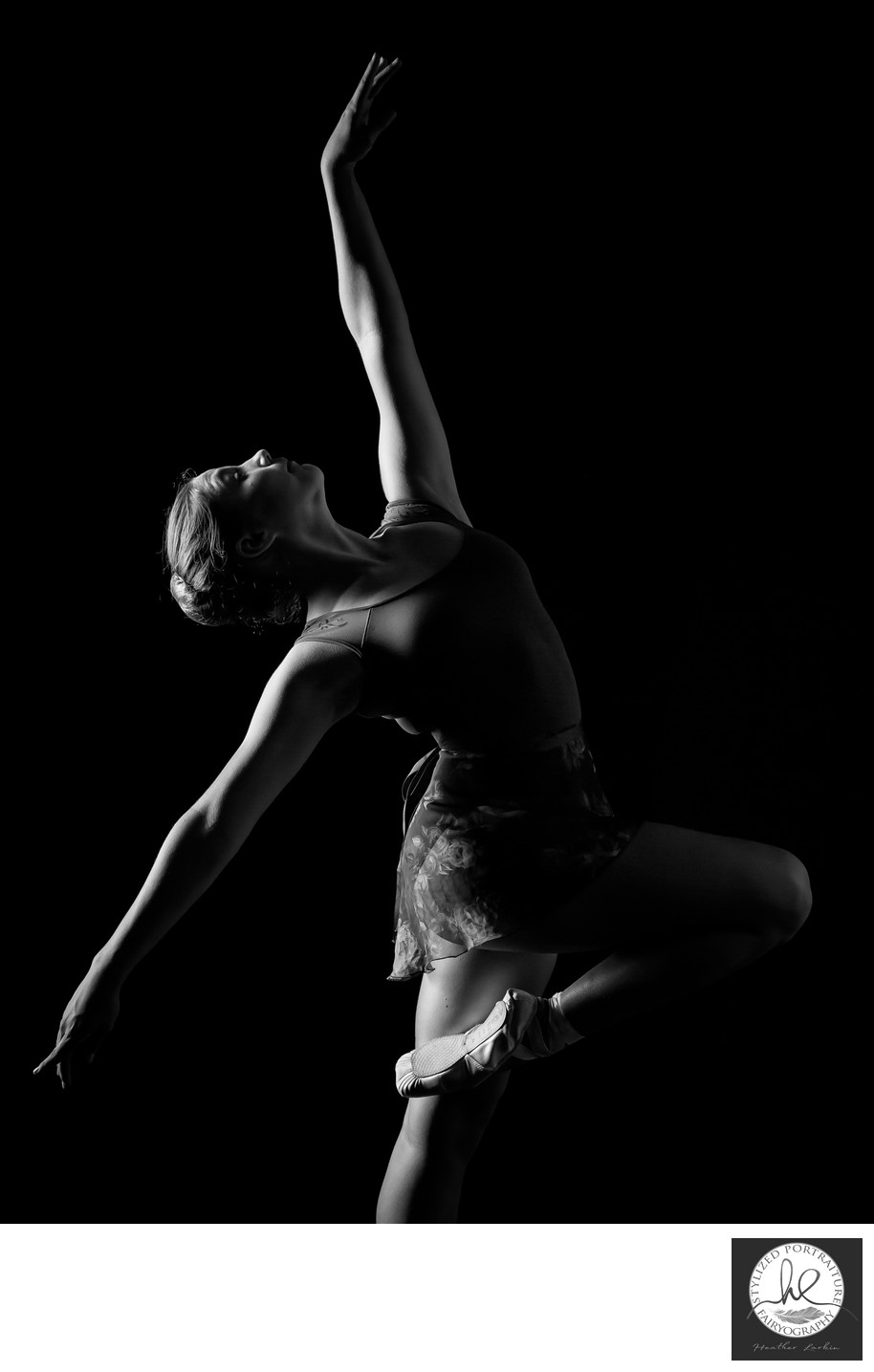 Studio dance photography