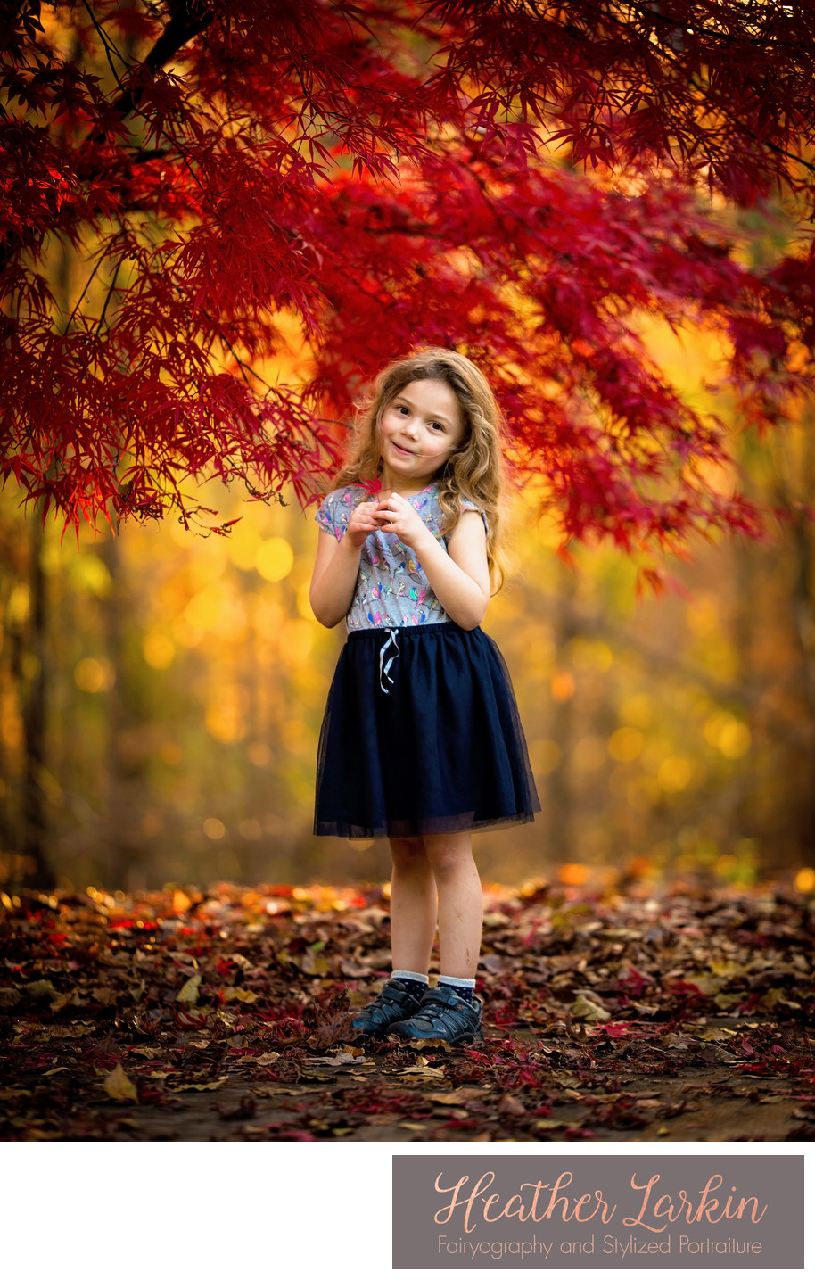 Fall Leaves baby Photographer Athens GA