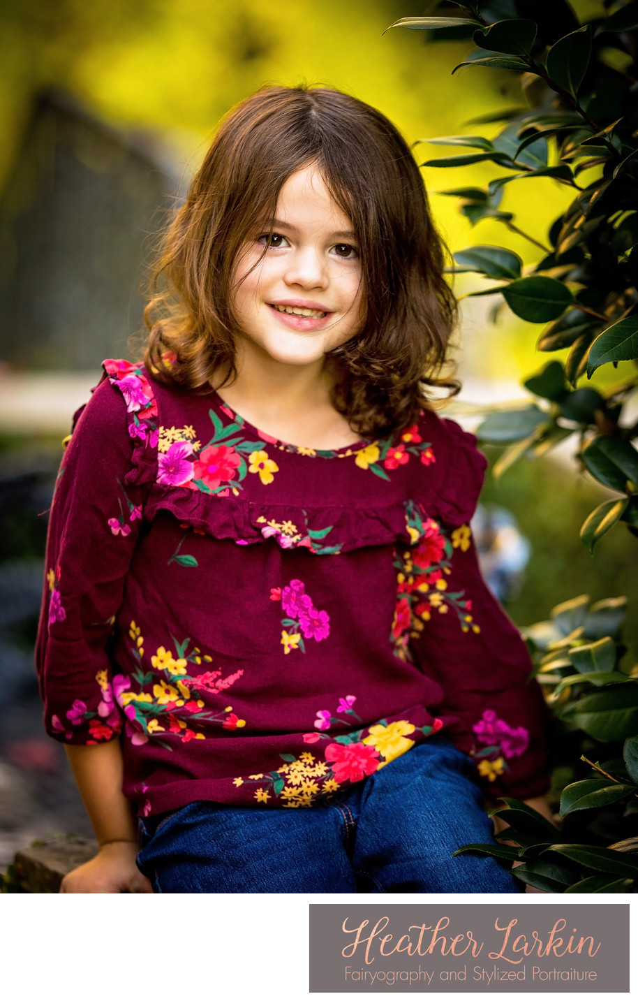 Athens Georgia child outdoor portraits
