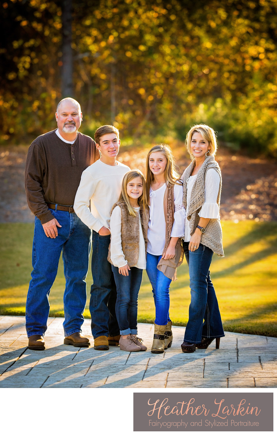 Oconee County professional family portraits at home