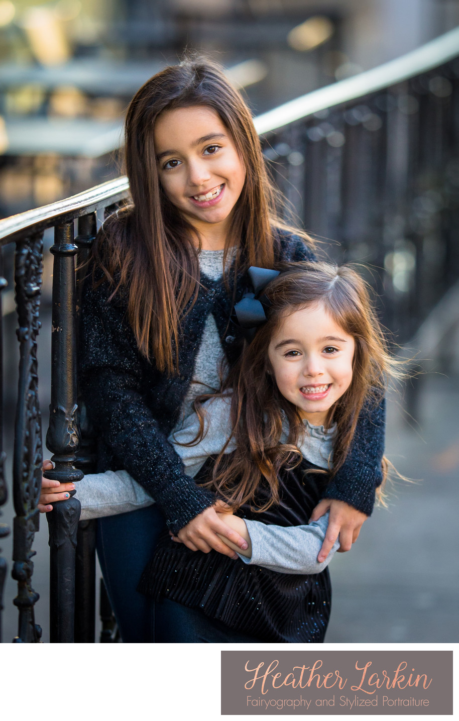 Downtown Athens GA Sisters photo session