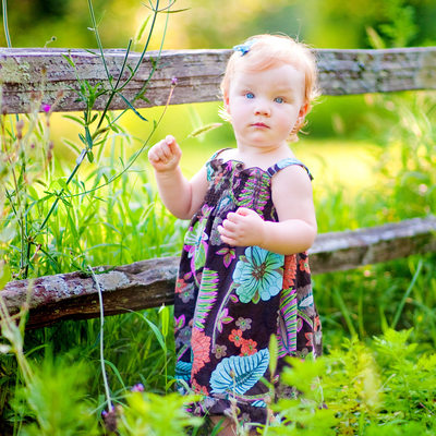 UGA Botanical Gardens Baby Photographer