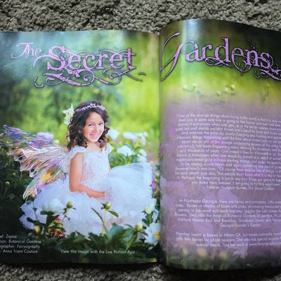 Fairyography published in Southern Distinction Magazine