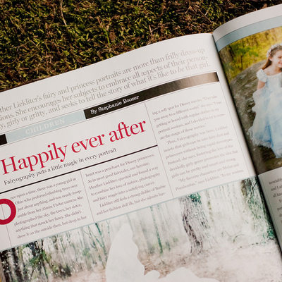 Fairyography published in Professional Photographer Magazine 2