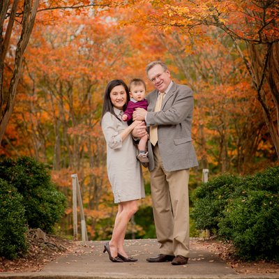 Watkinsville Georgia family photographer babies first Christmas