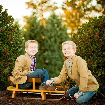 Atlanta holiday family photographer