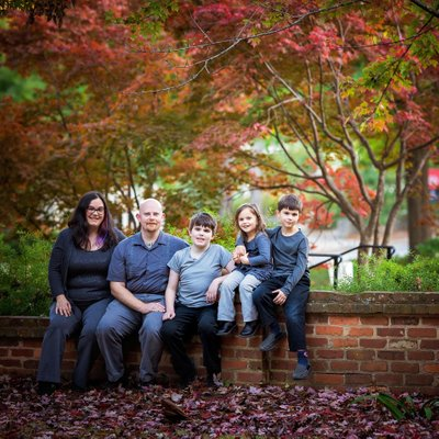 Uga campus family photos