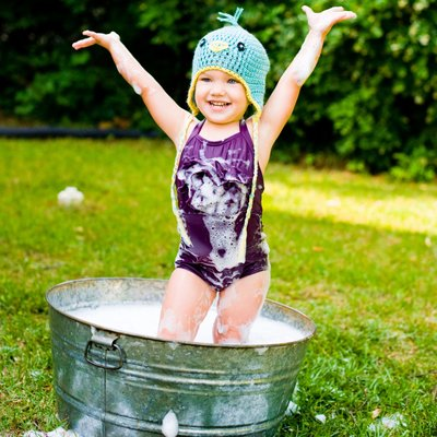 Bubble bath Photos for babies Athens GA