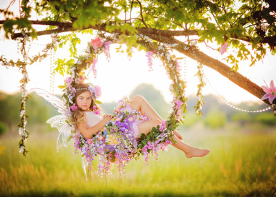 Flower Swing Fairy