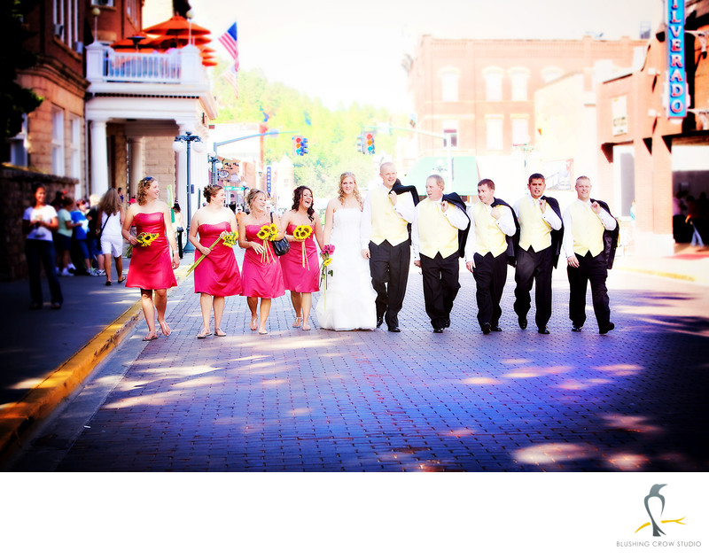 Deadwood, South Dakota Wedding Party