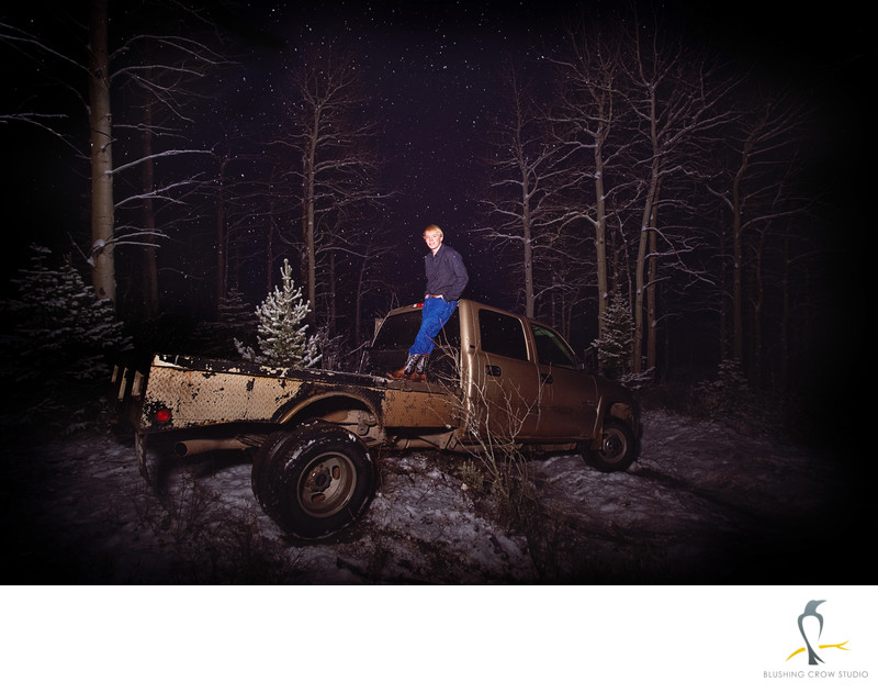 Redneck Senior Picture