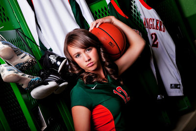 Pinedale High School Athlete Senior Photo