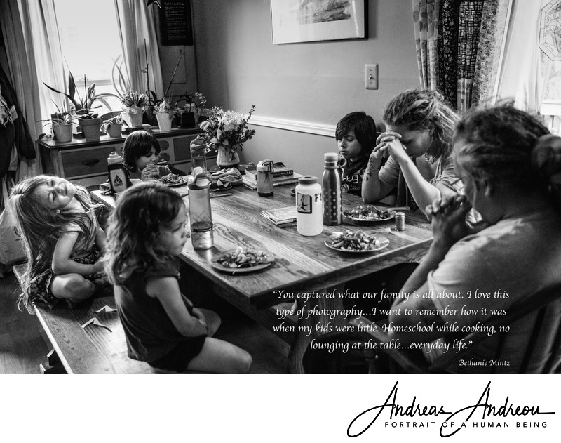 Family Documentary Photographer in Virginia