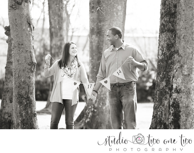 Fun Engagement Photos Columbia SC