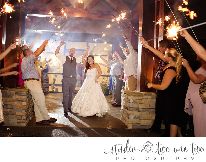 Stone River Wedding Photo