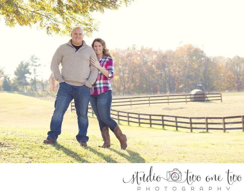 The Farm at Ridgeway engagement photos