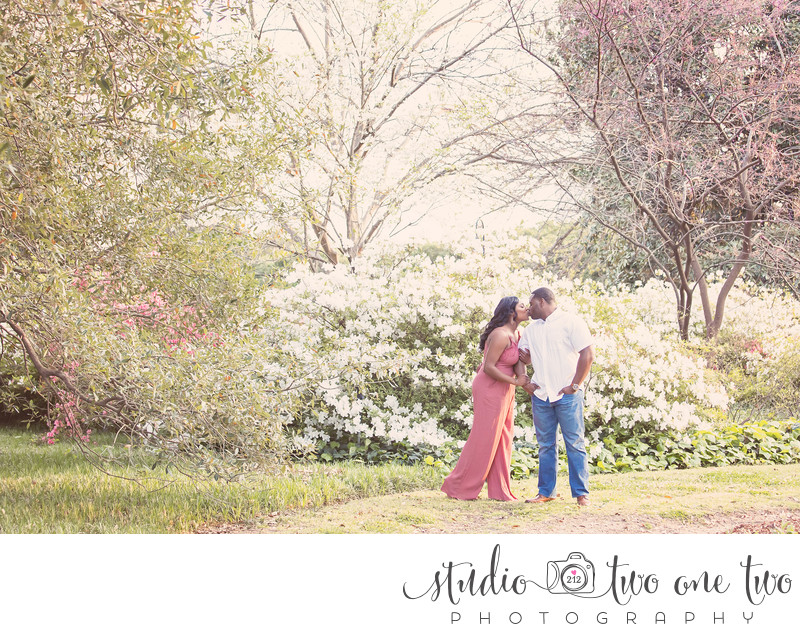 Spring engagement photos in Columbia, SC