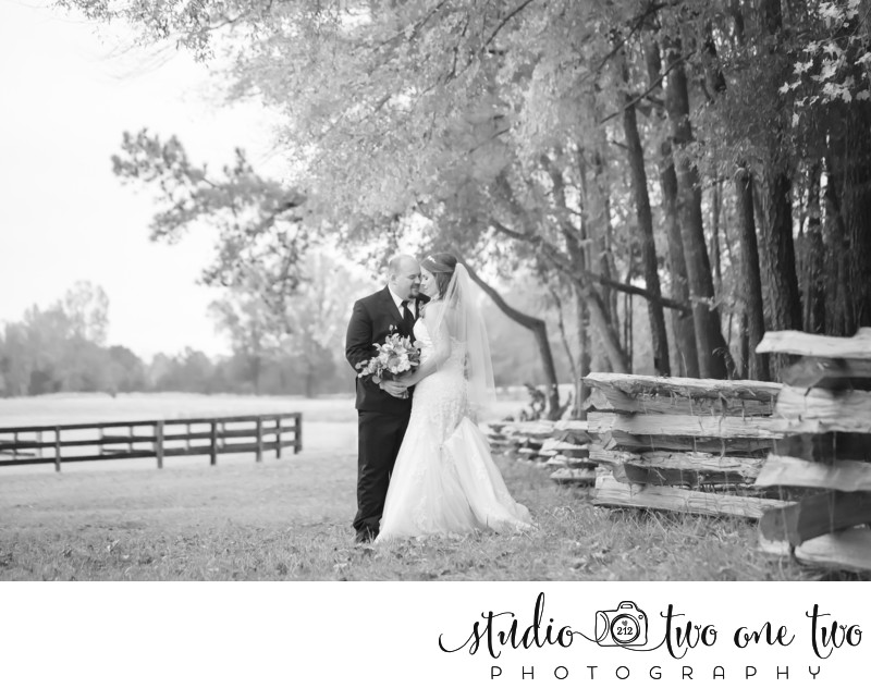 Fall wedding at The Farm at Ridgeway