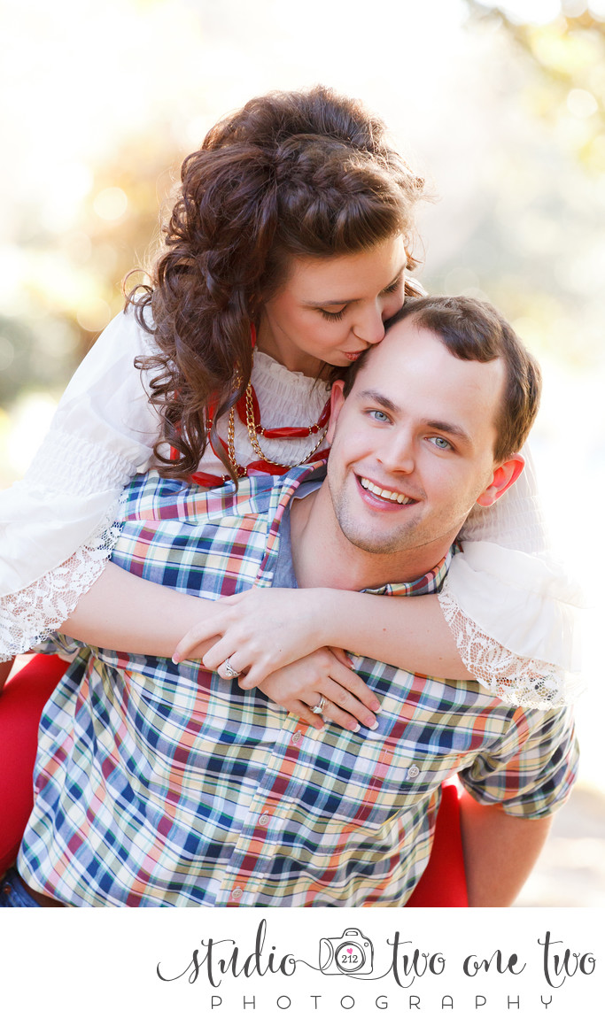 Engagement photos in Florence SC