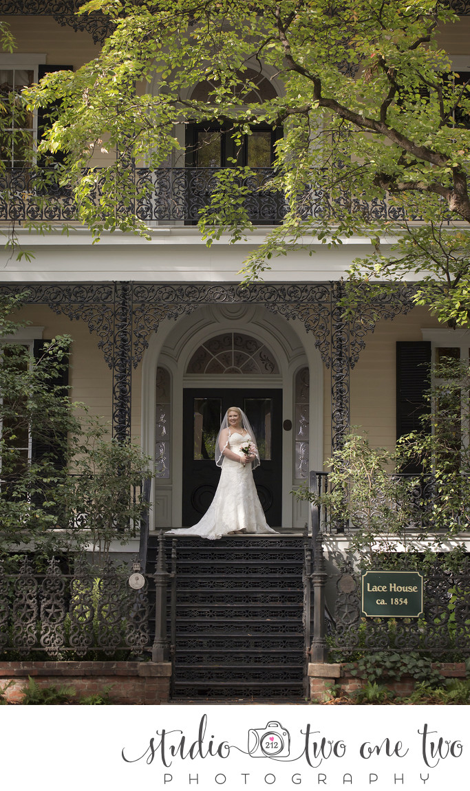 SC Lace House Bridal Photos