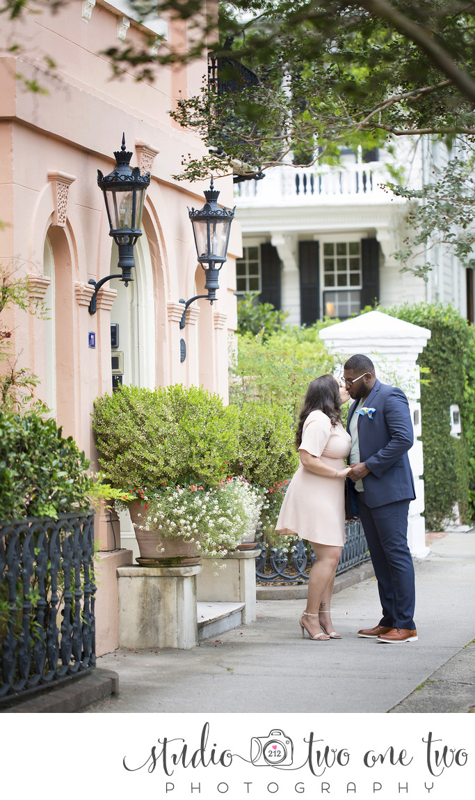 Charleston SC engagement photos