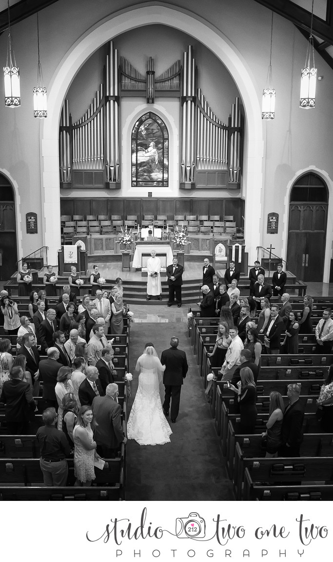 Shandon United Methodist Church wedding