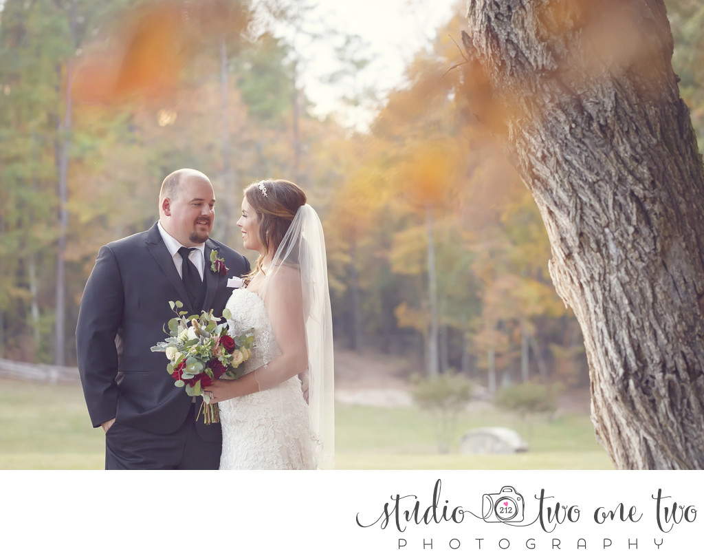 Farm at Ridgeway Fall Wedding