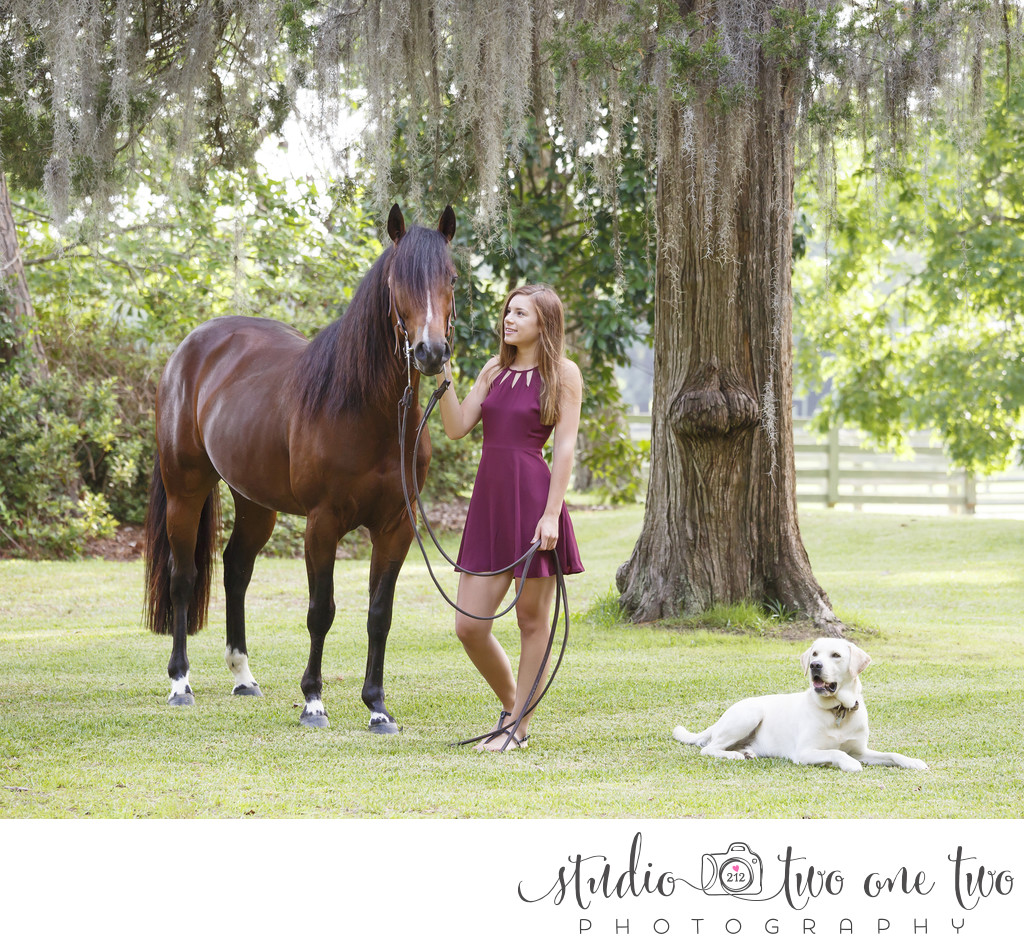 SC senior portrait photographer