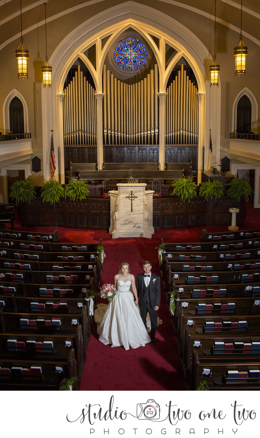 First Presbyterian Weddings, Columbia, SC