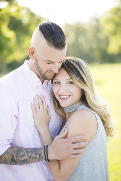 Jackson's Landing engagement photo