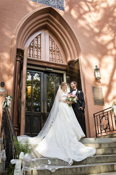 First Presbyterian Church wedding in Columbia, SC