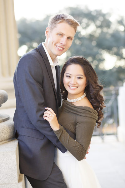 SC Statehouse engagement portraits