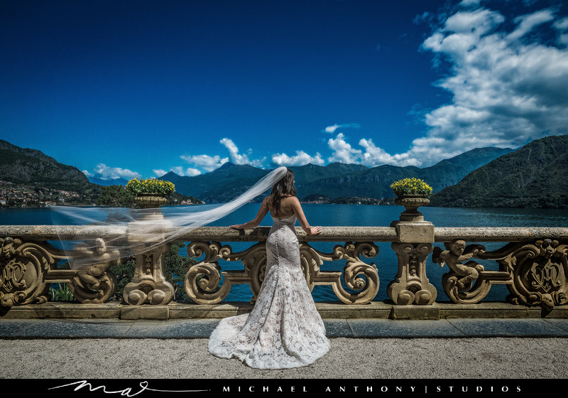 Lake Como Destination Wedding at Villa Del Balbianello
