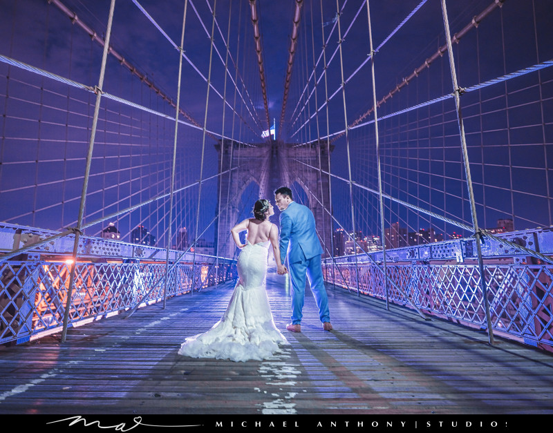 New York City Wedding Photography Brooklyn Bridge