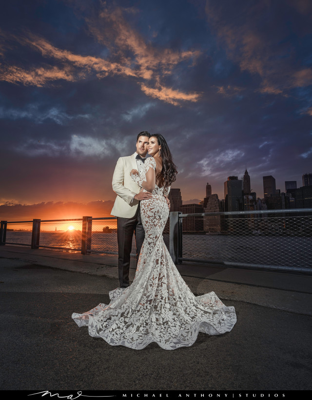 New York City Dumbo Wedding Shoot