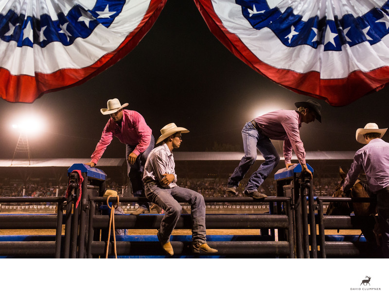 Cowboys at the Plains, Montana Rodeo