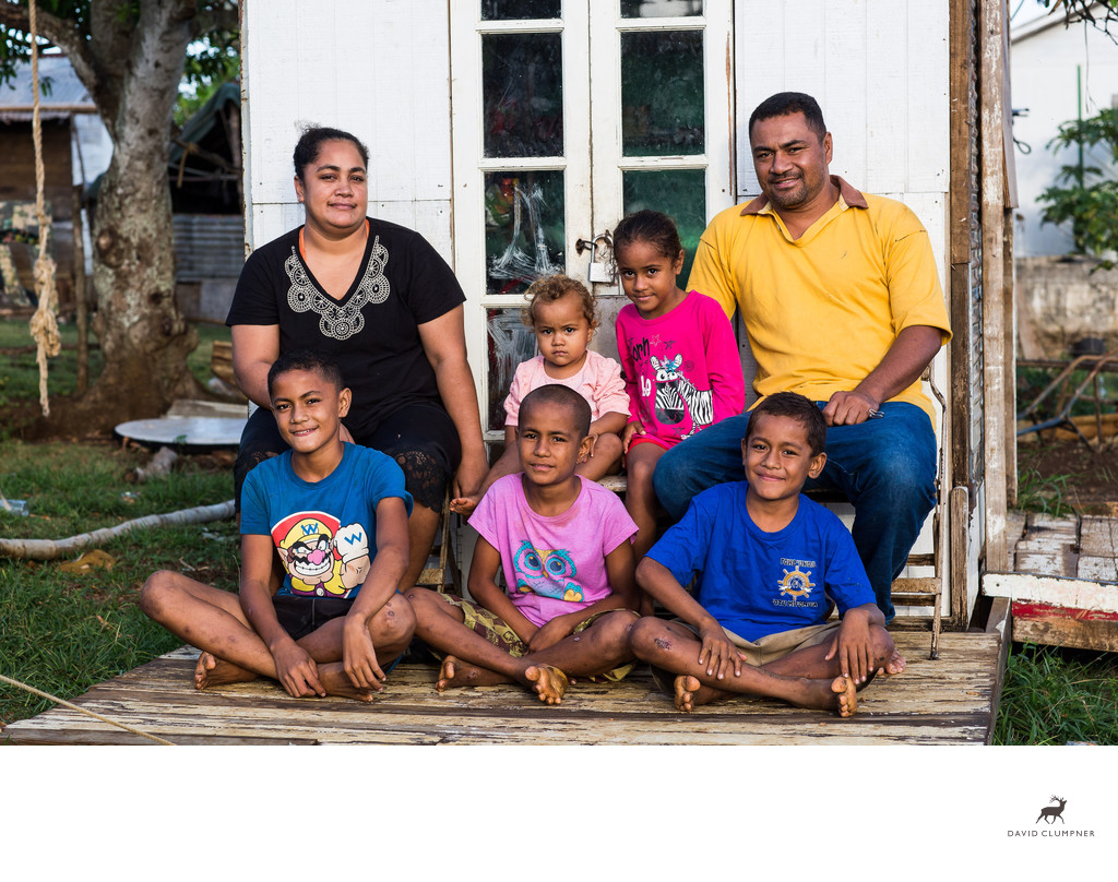Portrait of the Latu Family