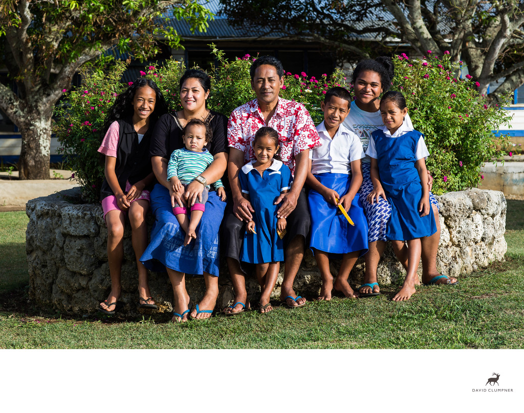 Koloti Family Portrait on Nomuka Island