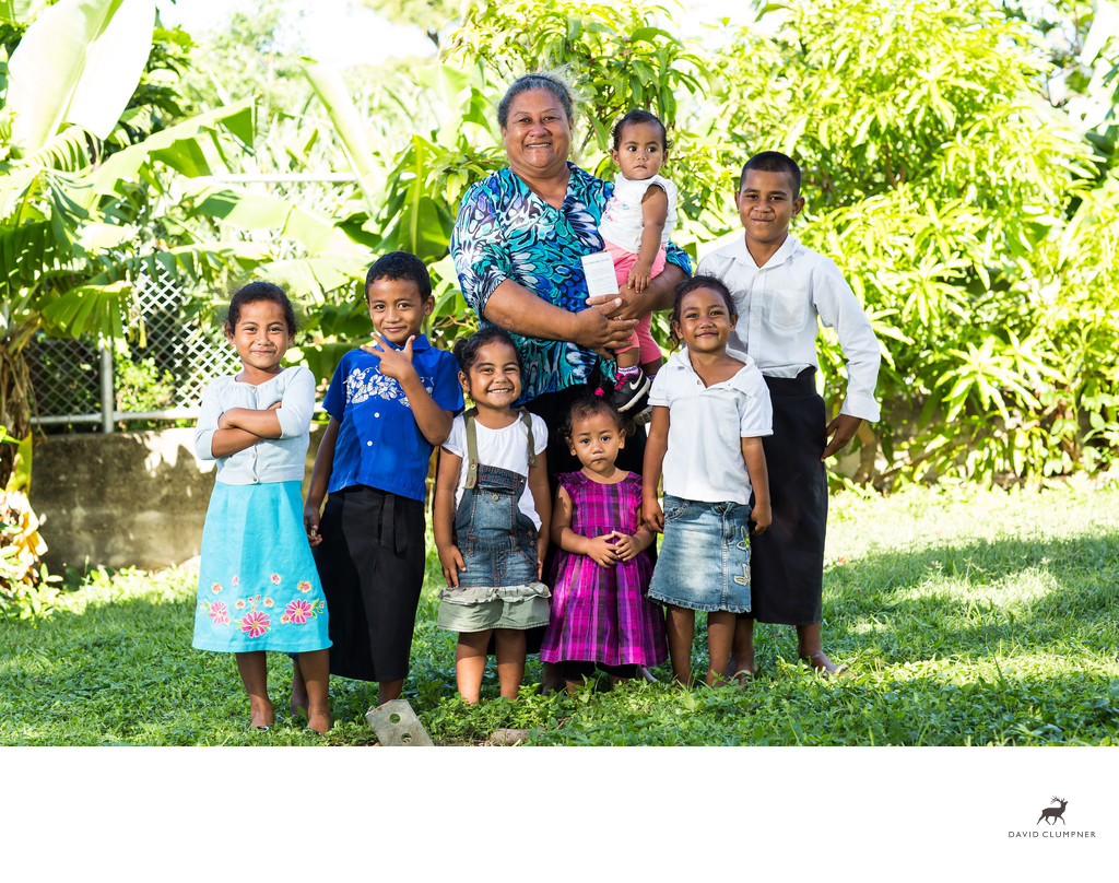veti and her grandchildren
