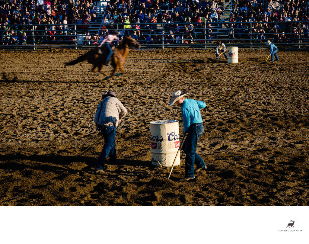 Barrel Racer and Cleanup Crew