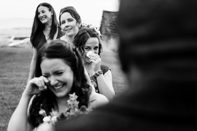 Groom's Vows Cause Bridal Party to Cry