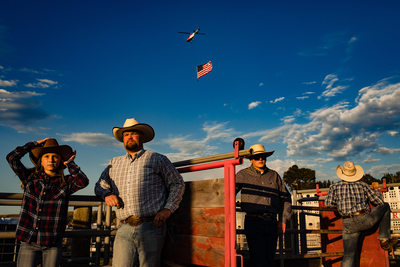 National Anthem at Livingston Roundup